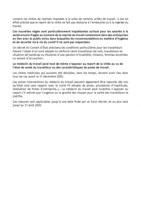 02 04 20 note dlaj sur l ordonnance sur les services de sante au trava 2